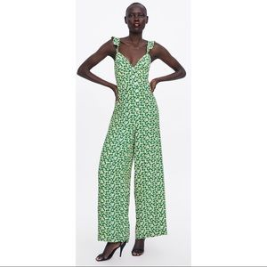 Zara Daisy Printed Jumpsuit